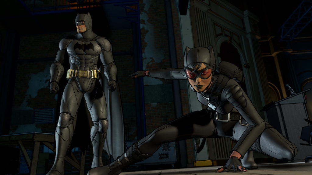 Batman Telltale Series Episode 2 Children of Arkham Catwoman Batman