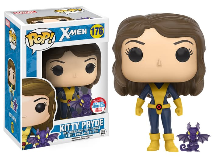 new york comic con 2016 funko exclusives Kitty Pryde Funko Pop X-Men