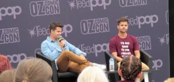 Oz Comic-Con Sydney 2016: Charlie and Max Carver, Devon Murray, and Timothy Omundson