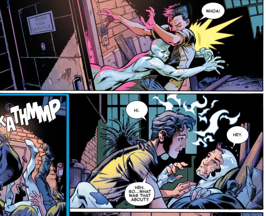 All-New X-Men Issue 13 Iceman gay Romeo