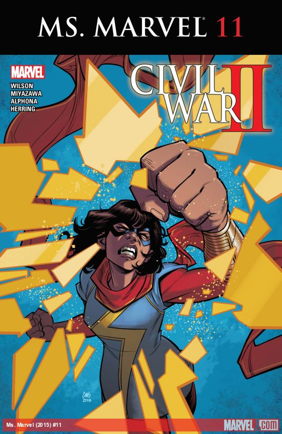 Kamala Khan Ms Marvel Issue 11 Civil War II