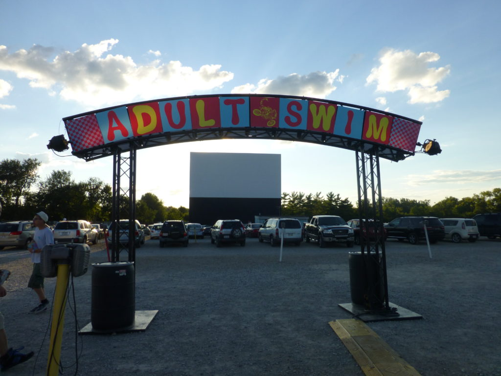 adult swim drive in