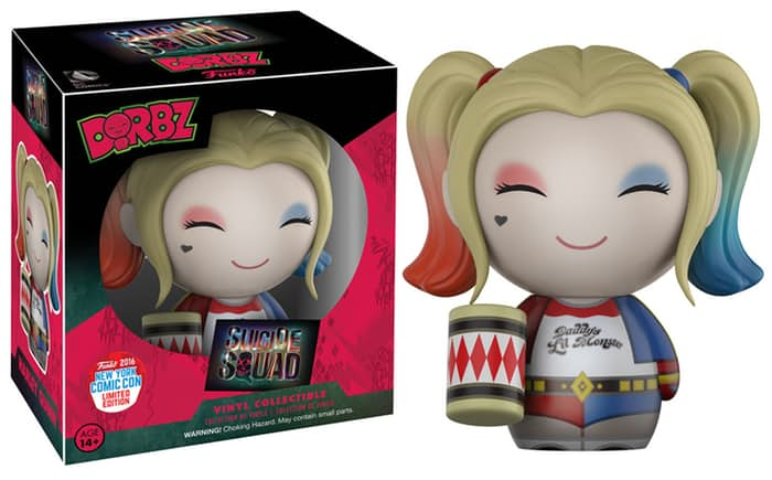 new york comic con 2016 funko exclusives suicide squad harley quinn