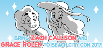 Beach City Con Stretch Goal to Bring in Voice Actors