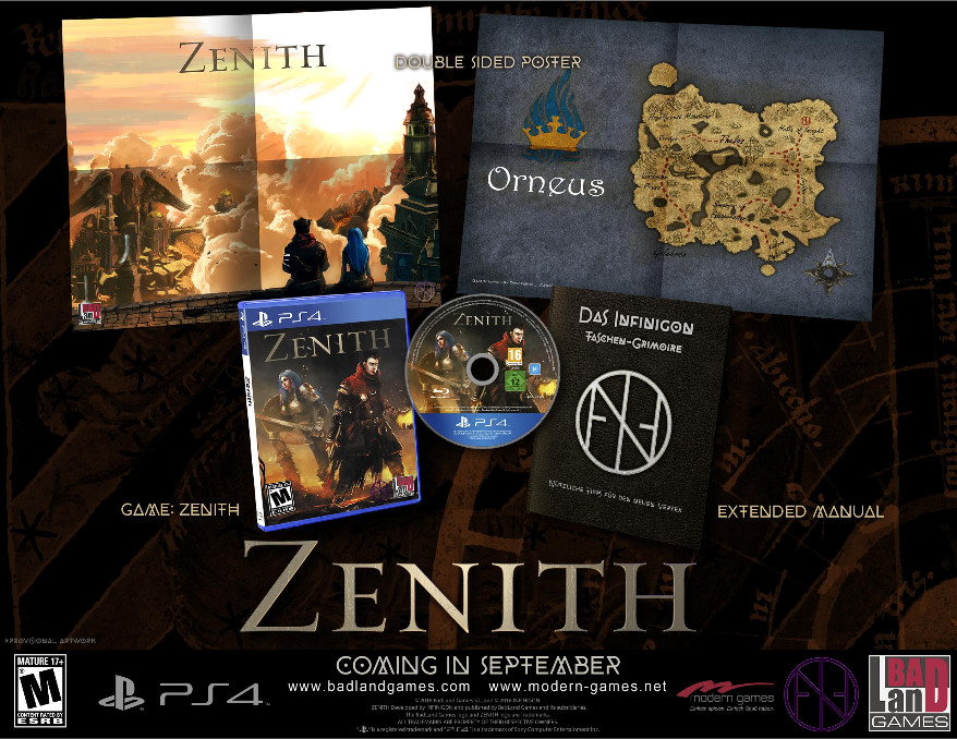 Zenith Image Box Set Infinigon Badland Games