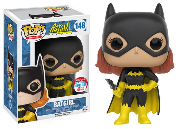 new york comic con 2016 funko exclusives Batgirl