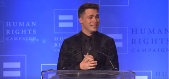 Viacom Blocks Colton Haynes' Acceptance Speech for Visibility Award by Human Rights Campaign