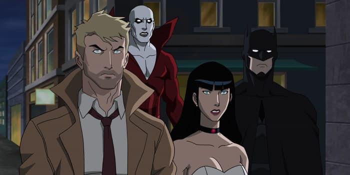justice league dark image The Geekiary briefs batman Constantine