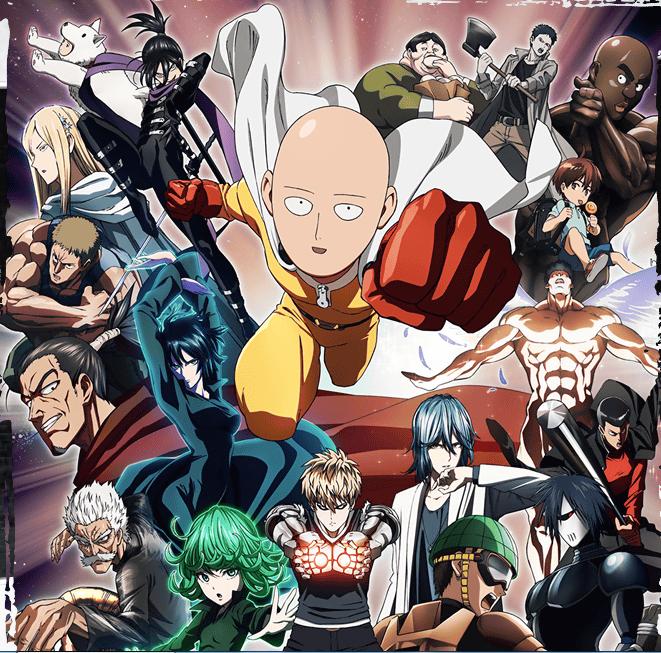geekiary news briefs one-punch man anime