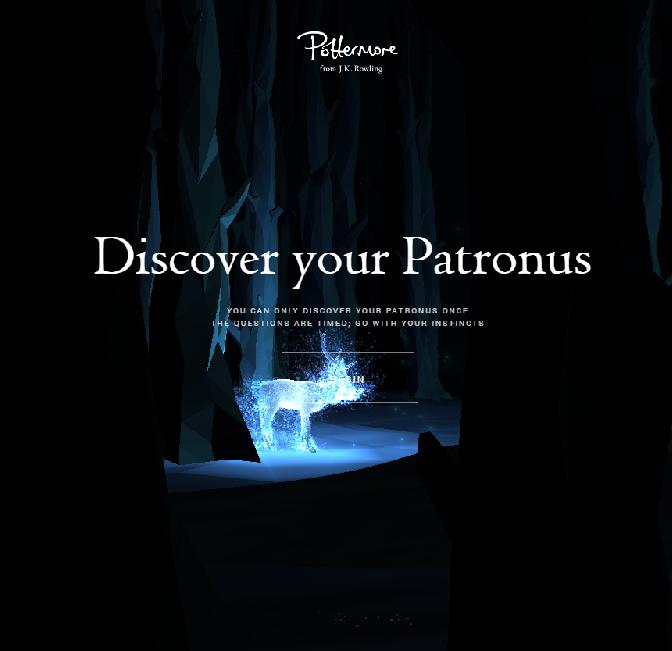 pottermore patronus