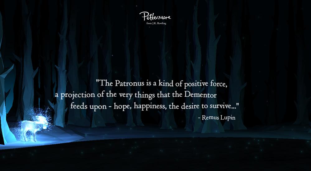 pottermore patronus quote