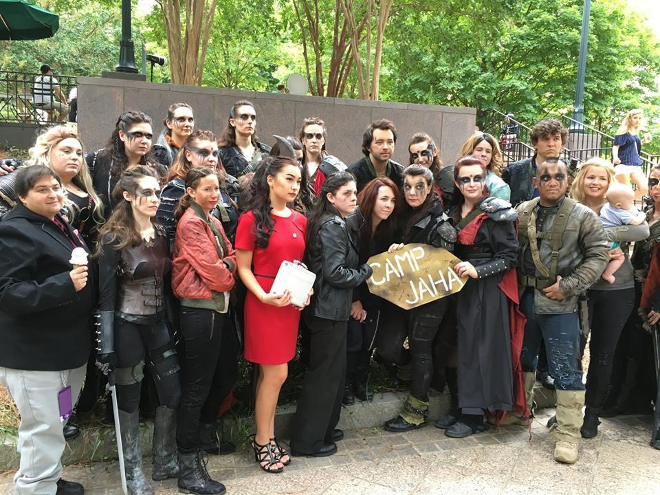 The 100 fandom Dragon Con 2016