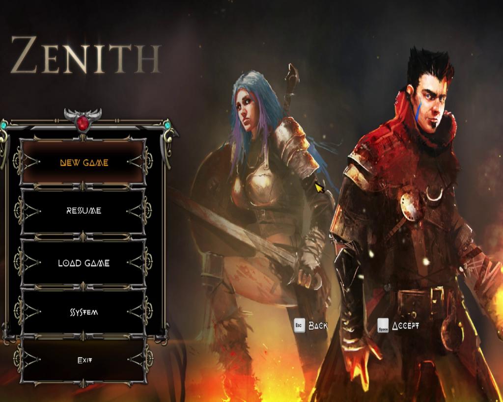 Zenith Badland Games Infinigon Indie game Argus and Alana