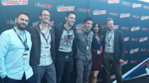 Humans cast NYCC
