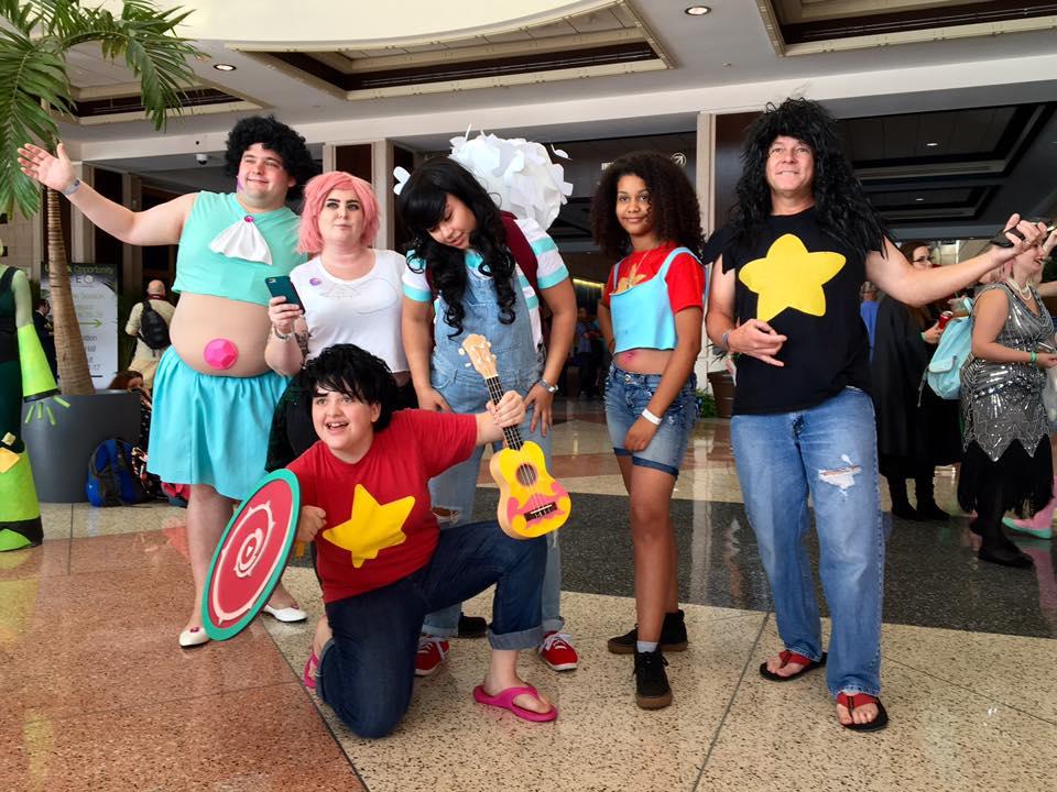 MegaCon Tampa Bay 2016 Steven Universe Cosplay