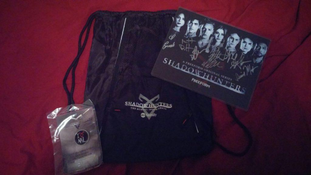 Shadowhunters NYCC giveaway