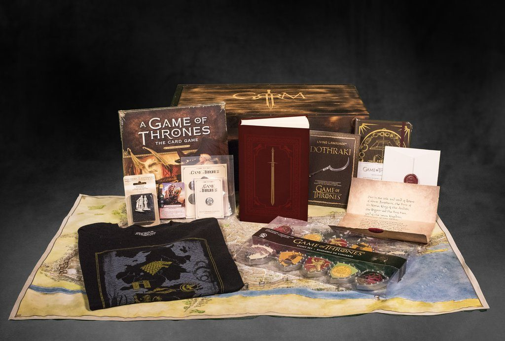 George R.R. Martin boxes