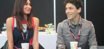 Colin Morgan & Gemma Chan – Humans at New York Comic Con 2016