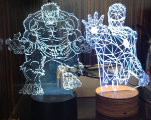 Digital Realm Iron Man Hulk