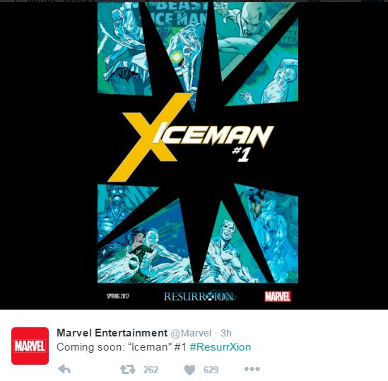 Iceman solo ResurrXion