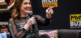 MCM London: Roundtable with Enver Gjokaj, Violett Beane & Michael Rowe