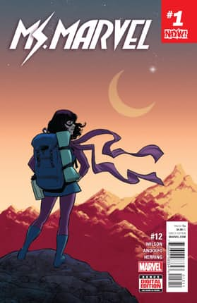 Ms Marvel Kamala Khan Issue 12 Marvel Now!