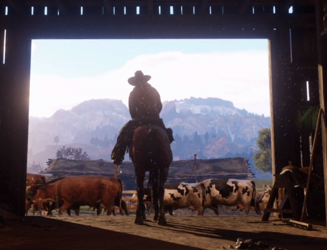 first Red Dead Redemption 2 trailer