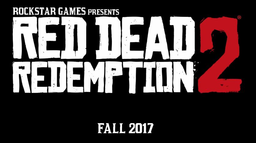 first Red Dead Redemption 2 trailer
