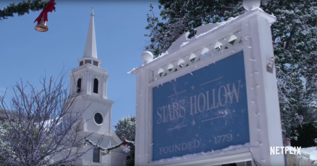 new Gilmore Girls trailer