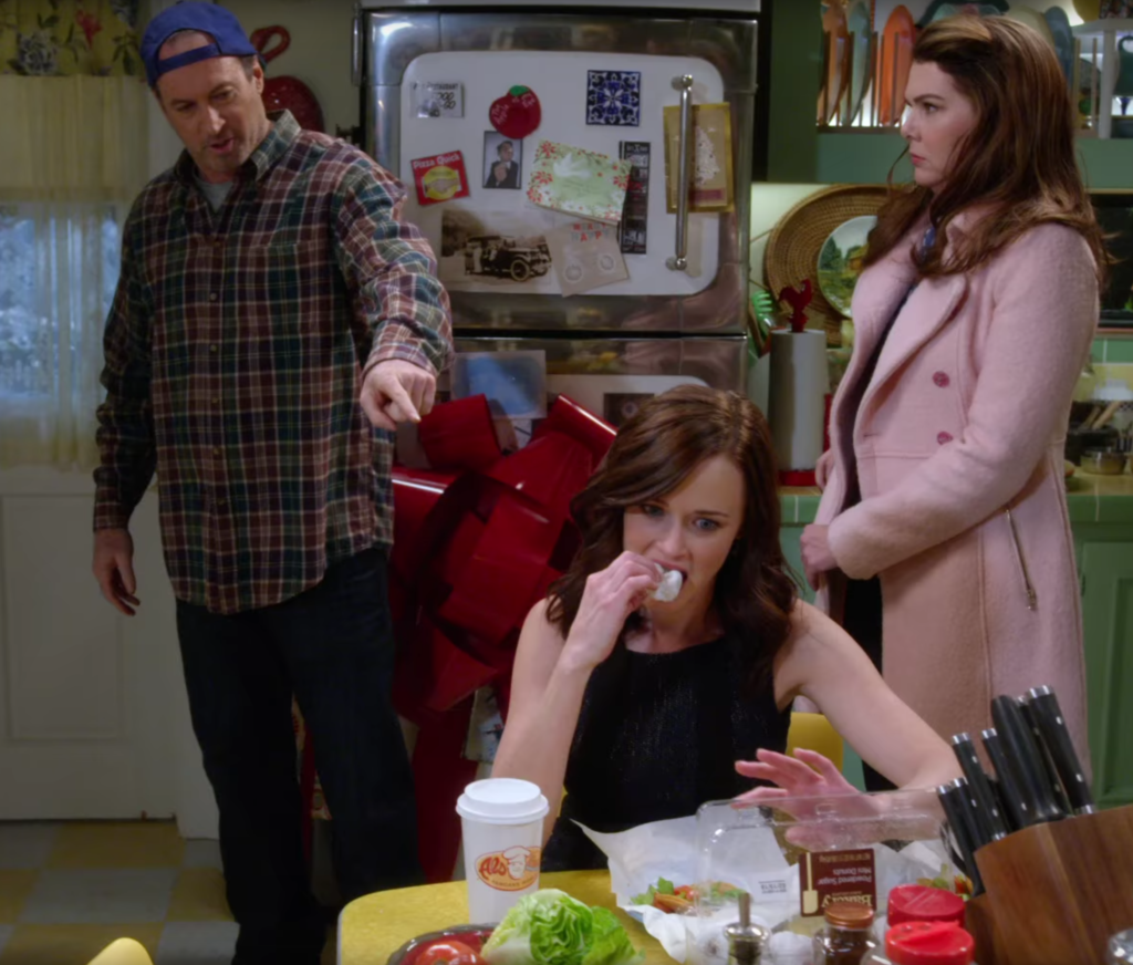 new Gilmore Girls trailer