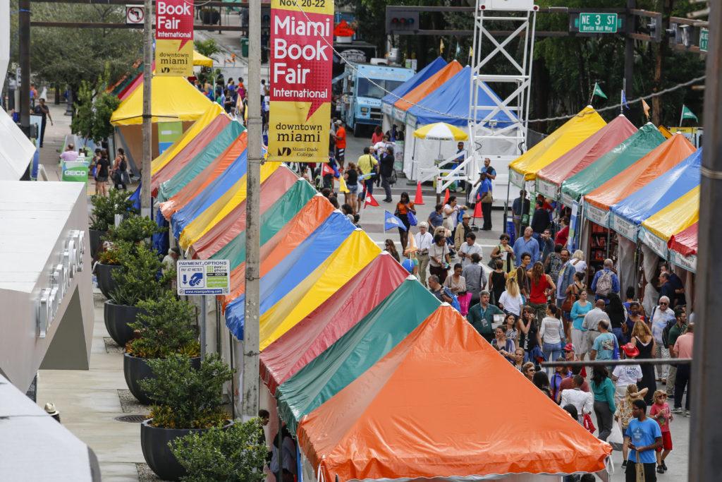 Photo courtesy of Miami Book Fair