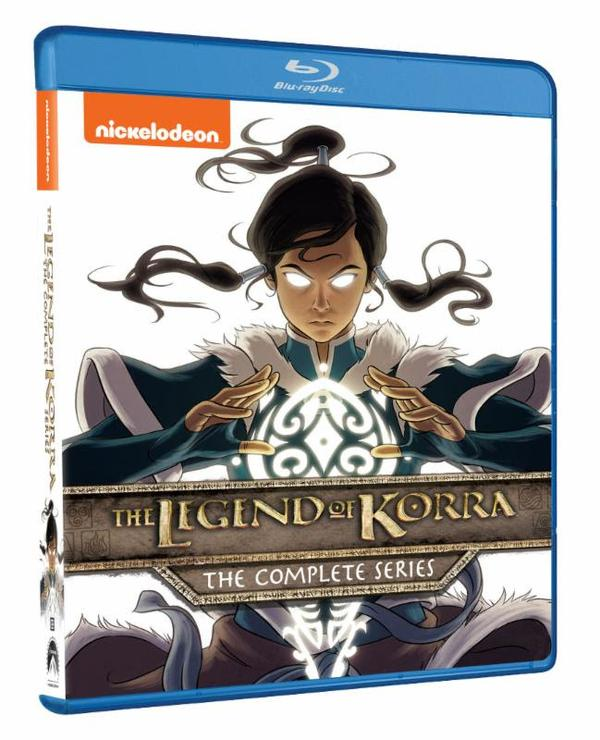 The legend of korra complete series box set