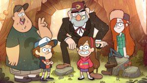 Gravity Falls Mystery Shack Crew
