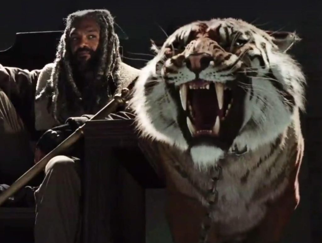 Walking Dead news Ezekiel Shiva