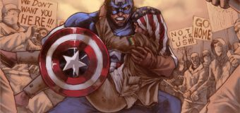"""Unlikely Heroes"" Using Proceeds From Captain America Print to Fight Hate"
