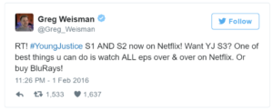 Netflix Binges Save Shows