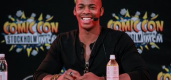 Comic Con Stockholm: Interview with Mehcad Brooks