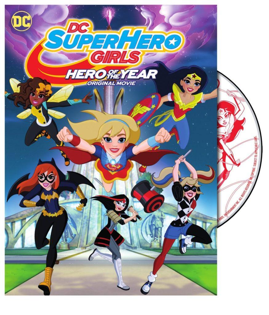DC Super Hero Girls Hero of the Year DVD