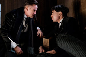 Fantastic Beasts and Where to Find Them review Percival Graves Credence