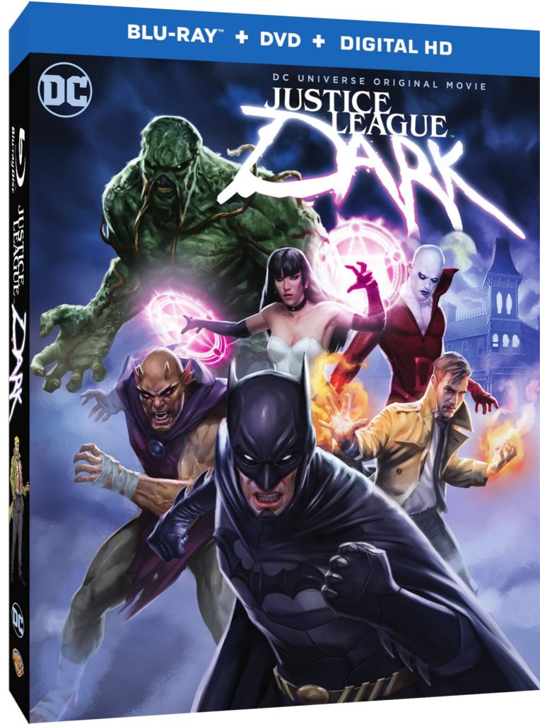 Justice League Dark Box art
