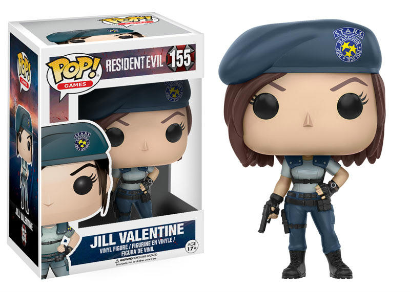 Jill Valentine Resident Evil Funko