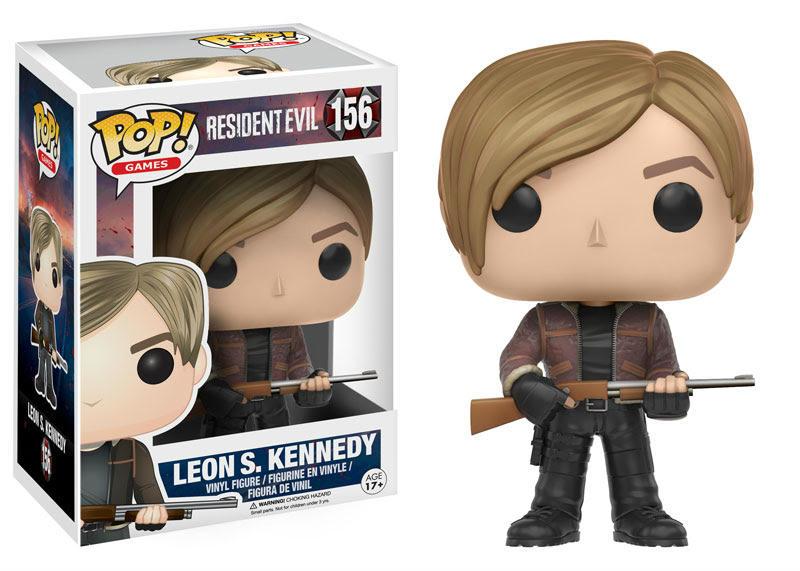 Leon S Kennedy Resident Evil Funko