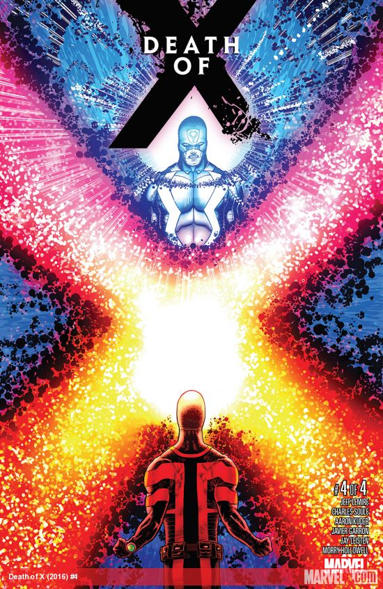 Marvel Death of X Issue 4
