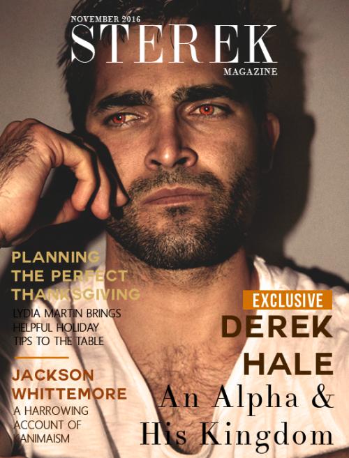 Sterek Magazine November Colethewolf