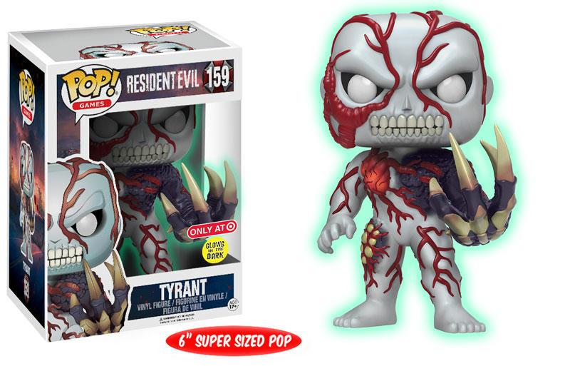Tyrant glow Resident Evil Funko