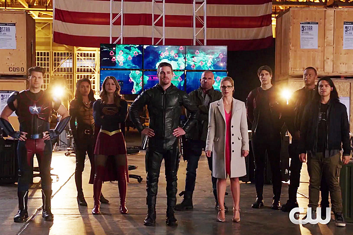 Supergirl Medusa Invasion DC Legends of Tomorrow The Flash Arrow