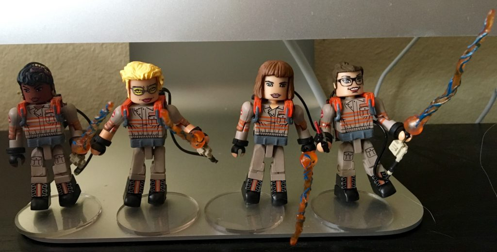 Ghostbusters 2016 Minimates Diamond Select Toys