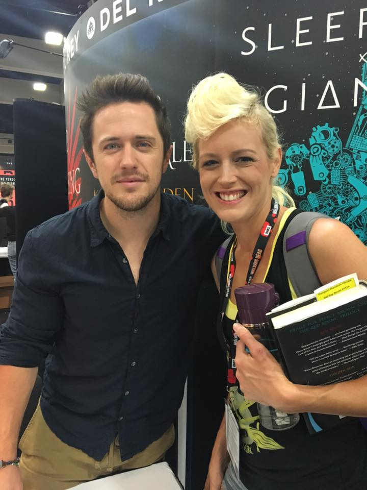 Convention Round Up 2016 SDCC Pierce Brown Red Rising
