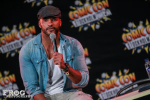 Comic Con Stockholm - Ricky Whittle