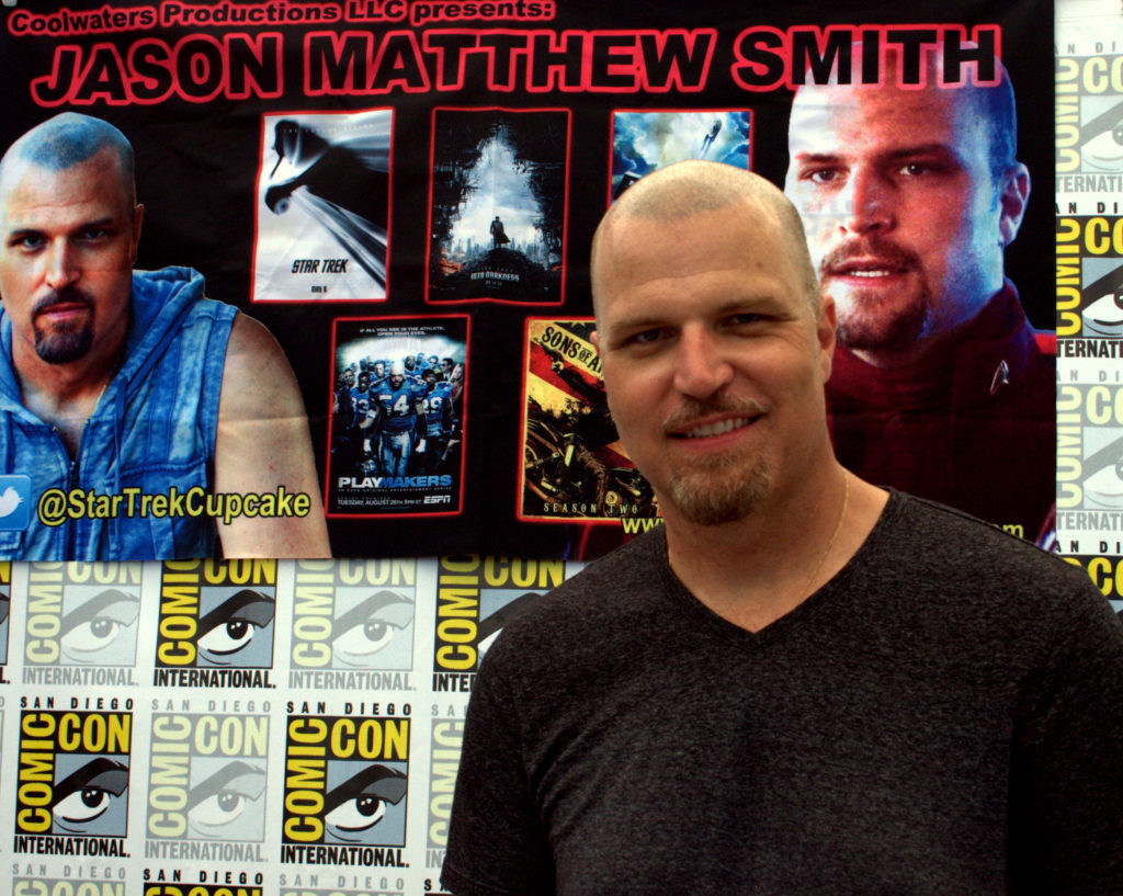 Convention Round Up 2016 Jason Matthew Smith Star Trek SDCC